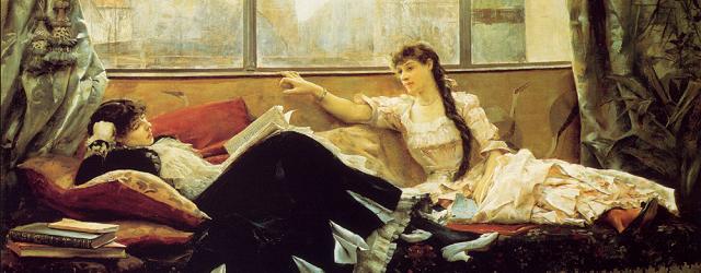 Sarah Bernhardt and Christine Nilsson