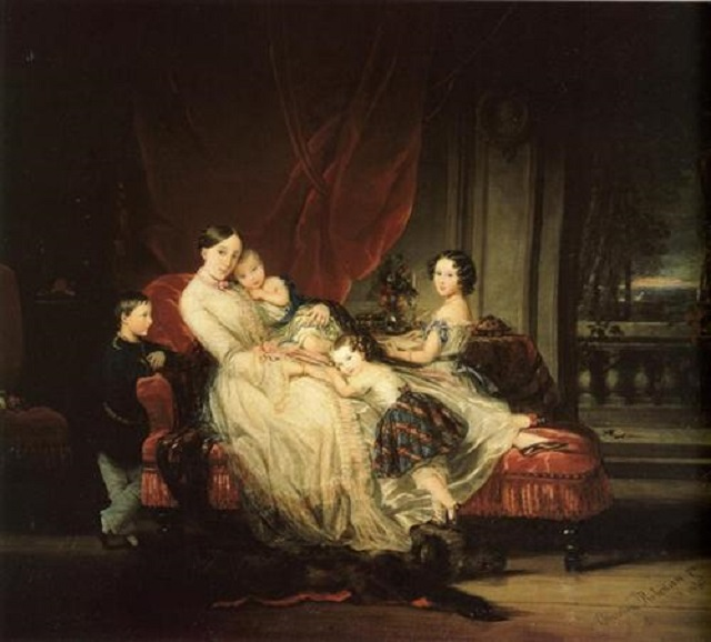 a-grande-duchesse-maria-nikolaevna-et-ses-enfants