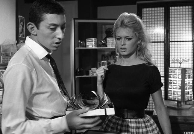 Gainsbourg et Bardot