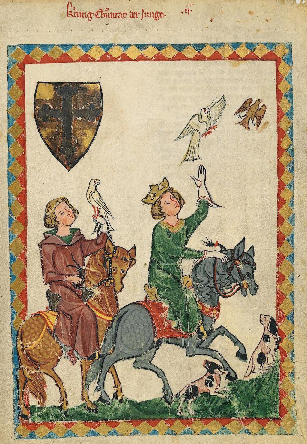 Chasse au faucon au Moyen Âge