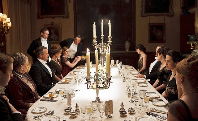 Downton-abbey-repas-un-texte-un-jour